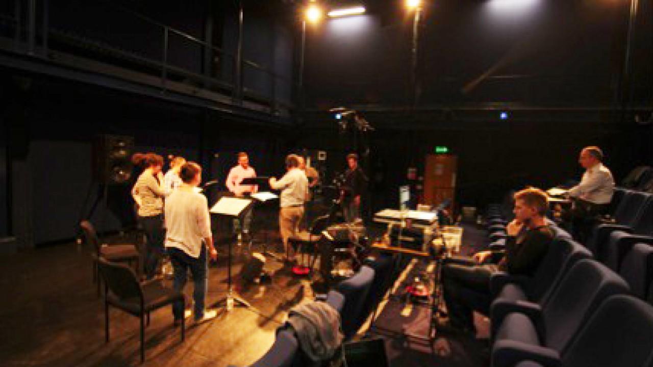 Architexture II in rehearsal